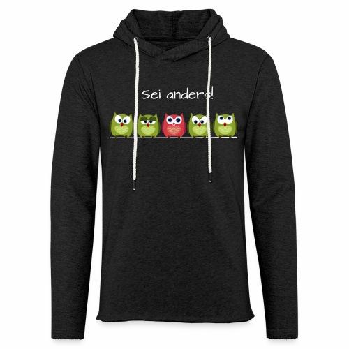 Be different - Leichtes Kapuzensweatshirt Unisex