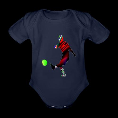 Football 2 - Baby Bio-Kurzarm-Body