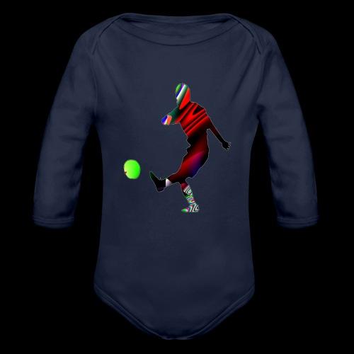 Football 2 - Baby Bio-Langarm-Body