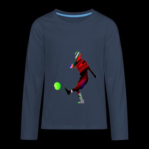 Football 2 - Teenager Premium Langarmshirt