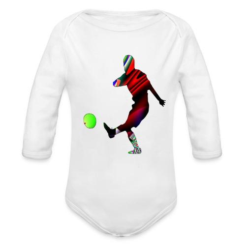 Football 2 - Body bébé bio manches longues