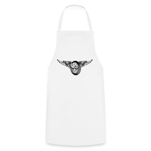 Rueda con alas - Delantal de cocina