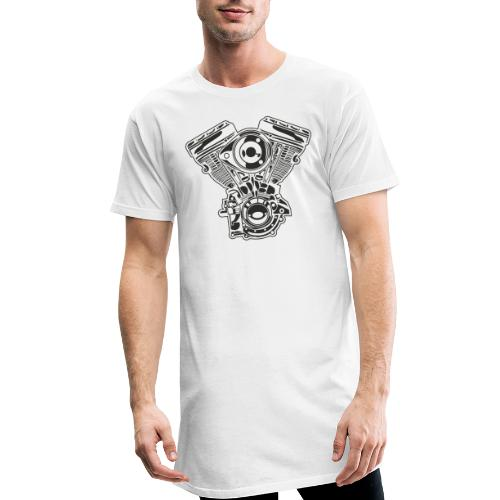Motor moto - Camiseta urbana para hombre