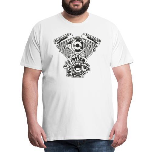 Motor moto - Camiseta premium hombre