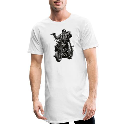 Motero Chopper - Camiseta urbana para hombre