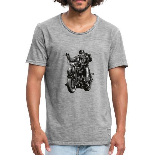 Motero Chopper - Camiseta vintage hombre
