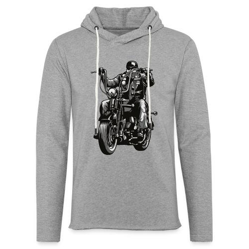 Motero Chopper - Sudadera ligera unisex con capucha