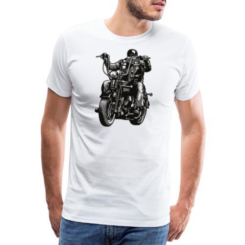 Motero Chopper - Camiseta premium hombre
