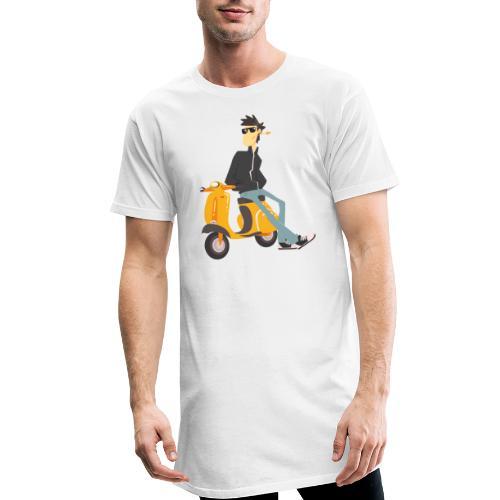 scooter - Camiseta urbana para hombre