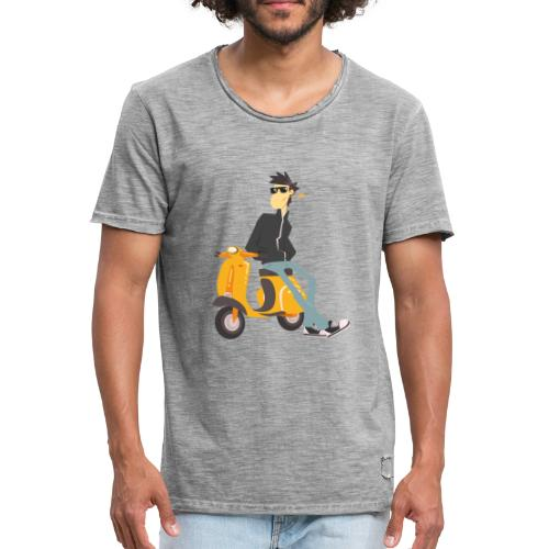 scooter - Camiseta vintage hombre