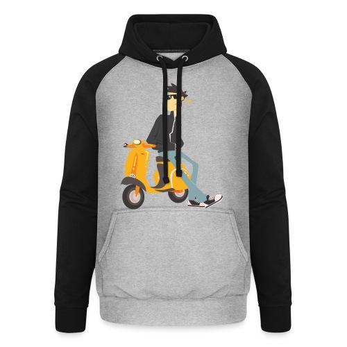 scooter - Sudadera con capucha de béisbol unisex