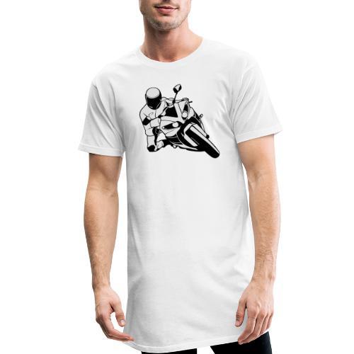 Motociclista - Camiseta urbana para hombre