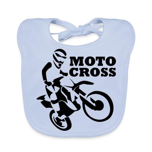 Motocross - Babero ecológico bebé