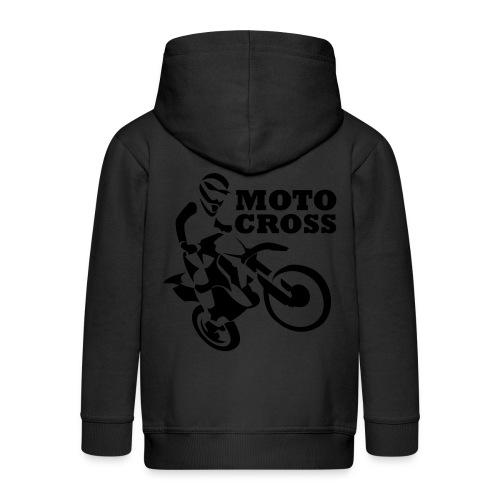 Motocross - Chaqueta con capucha premium niño
