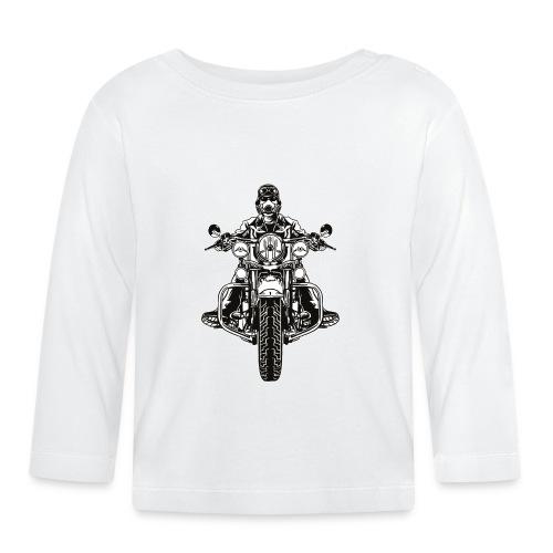 Motorista salvaje - Camiseta manga larga bebé