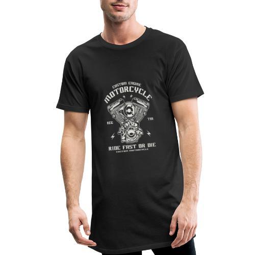 motocicleta personalizada - Camiseta urbana para hombre