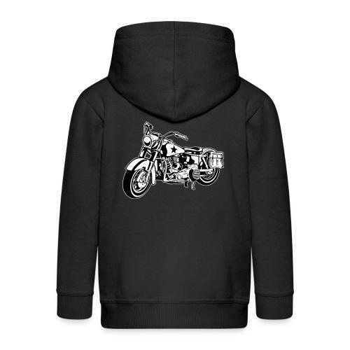 Motocicleta - Chaqueta con capucha premium niño
