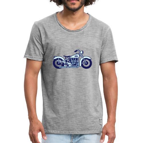 Moto - Camiseta vintage hombre