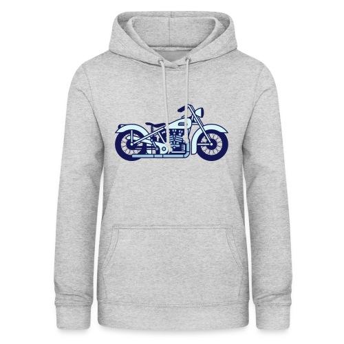 Moto - Sudadera con capucha para mujer