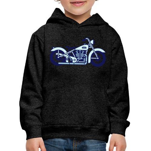 Moto - Sudadera con capucha premium niño