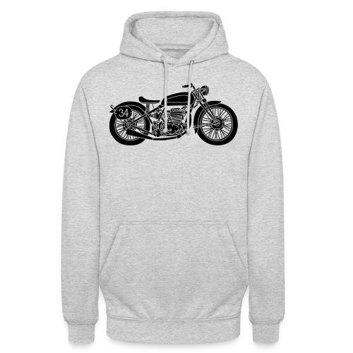 Motocicleta - Sudadera con capucha unisex
