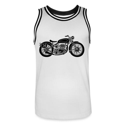 Motocicleta - Camiseta de baloncesto para hombre