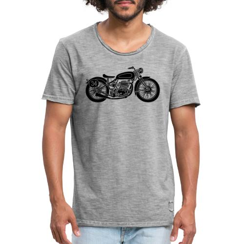 Motocicleta - Camiseta vintage hombre