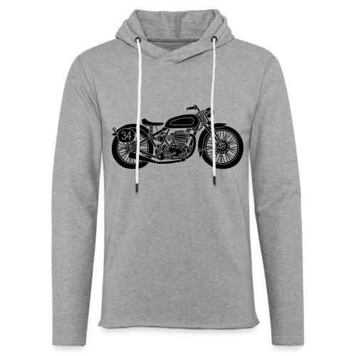Motocicleta - Sudadera ligera unisex con capucha