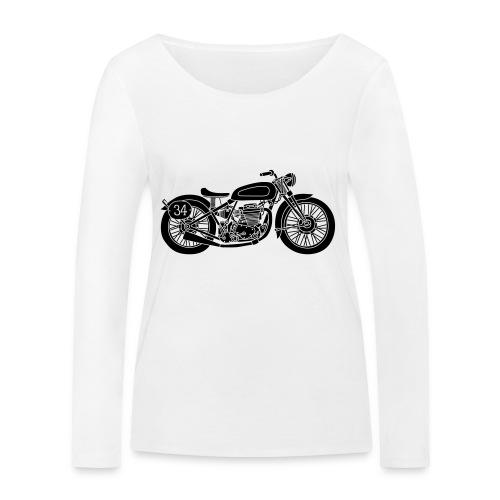 Motocicleta - Camiseta de manga larga ecológica mujer de Stanley & Stella