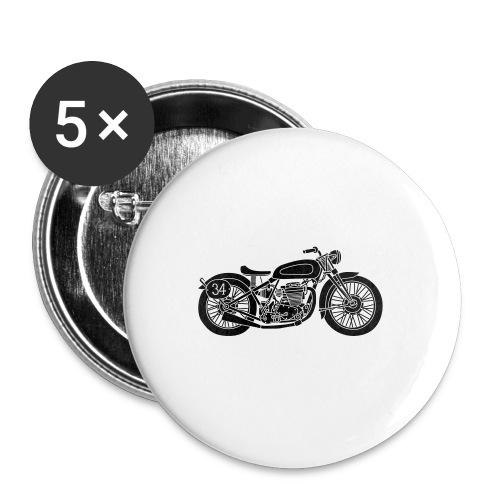 Motocicleta - Chapa mediana 32 mm