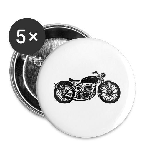 Motocicleta - Chapa pequeña 25 mm