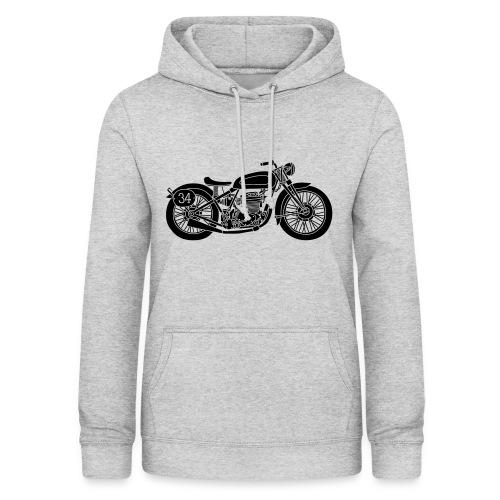 Motocicleta - Sudadera con capucha para mujer