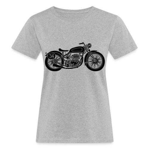 Motocicleta - Camiseta ecológica mujer