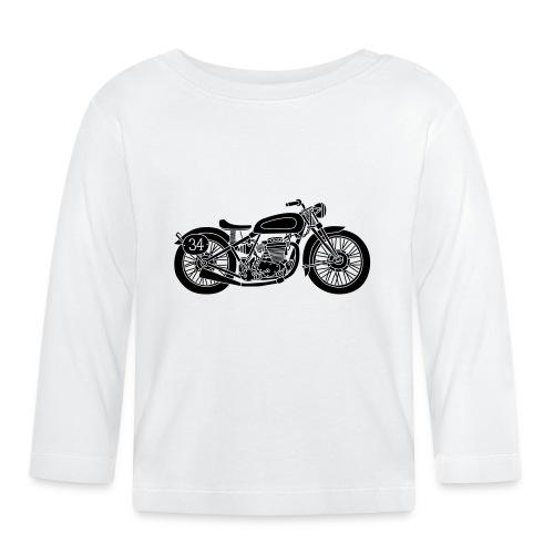 Motocicleta - Camiseta manga larga bebé