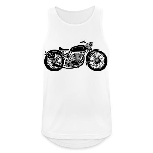 Motocicleta - Camiseta sin mangas hombre transpirable