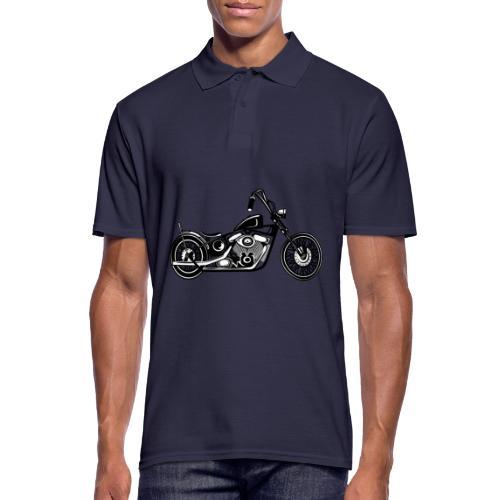 Motocicleta Chopper - Polo hombre