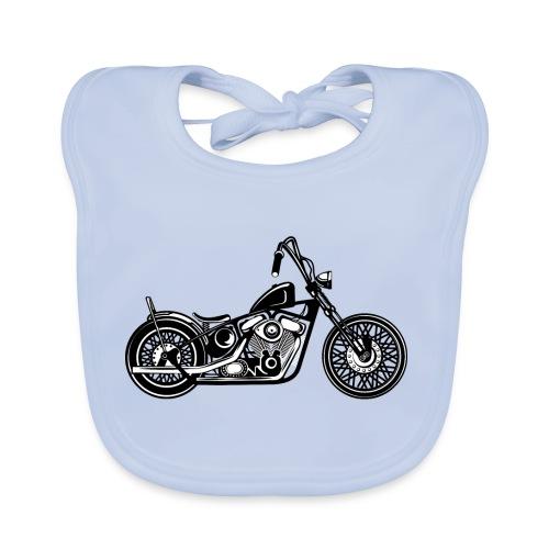 Motocicleta Chopper - Babero ecológico bebé