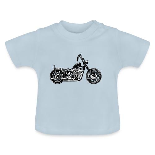 Motocicleta Chopper - Camiseta bebé