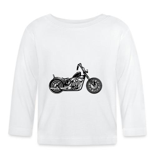 Motocicleta Chopper - Camiseta manga larga bebé