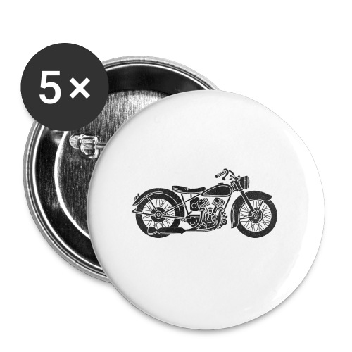 Motocicleta - Chapa grande 56 mm