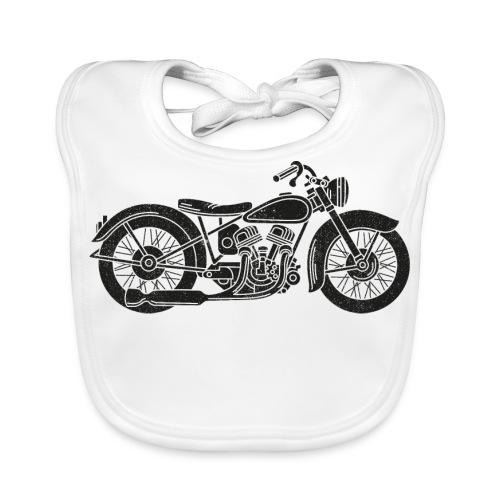 Motocicleta - Babero ecológico bebé