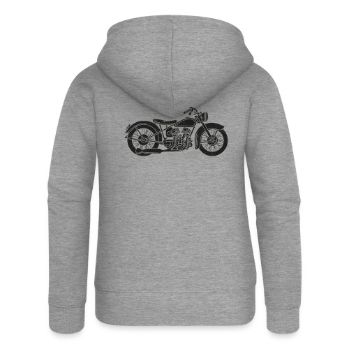 Motocicleta - Chaqueta con capucha premium mujer