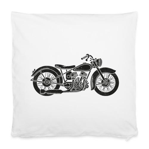Motocicleta - Funda de almohada 40 x 40 cm