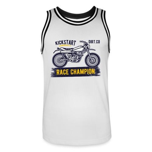 Super Cross - Camiseta de baloncesto para hombre