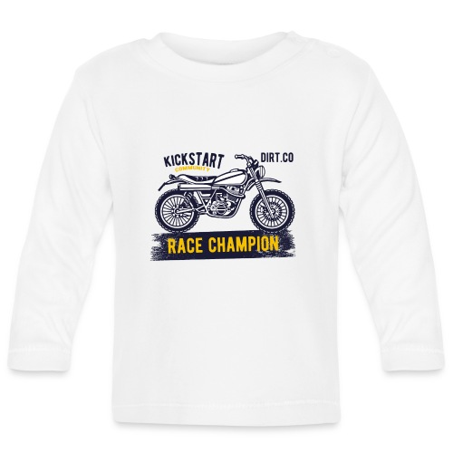 Super Cross - Camiseta manga larga bebé