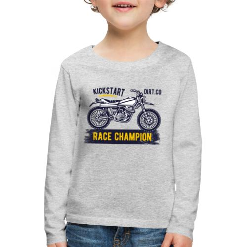 Super Cross - Camiseta de manga larga premium niño