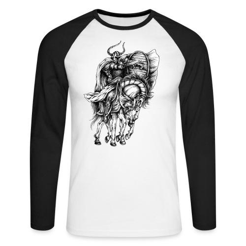 Odin - Männer Baseballshirt langarm