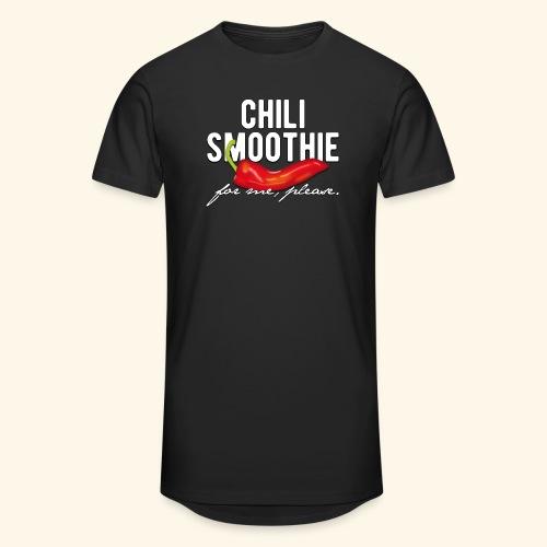 Chili Pepper T-Shirt Chili Smoothie - Männer Urban Longshirt