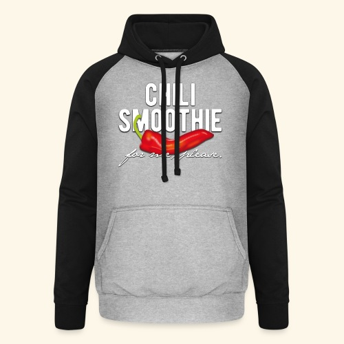 Chili Pepper T-Shirt Chili Smoothie - Unisex Baseball Hoodie