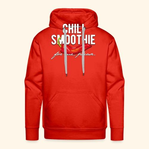 Chili Pepper T-Shirt Chili Smoothie - Männer Premium Hoodie